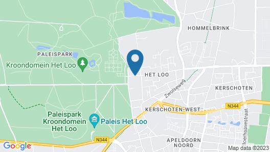 Bilderberg Hotel De Keizerskroon Map