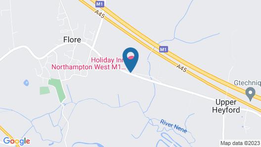 Holiday Inn Northampton West M1, Jct 16 Map