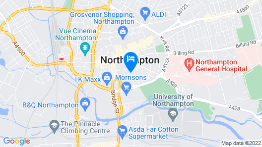 Shortletting by Centro Ap. - Bloomsbury Map