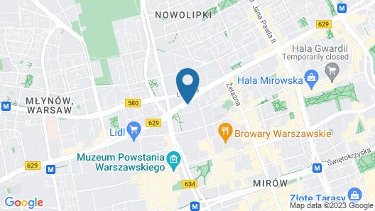 ibis Warszawa Centrum Map