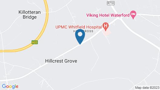 Ashleigh House B&B Map