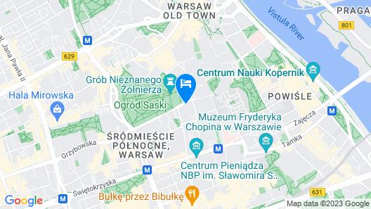 Sofitel Warsaw Victoria Map