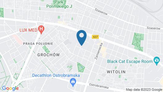 Best Western Hotel Felix Map