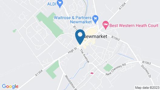 White Hart, Newmarket by Marston's Inns Map