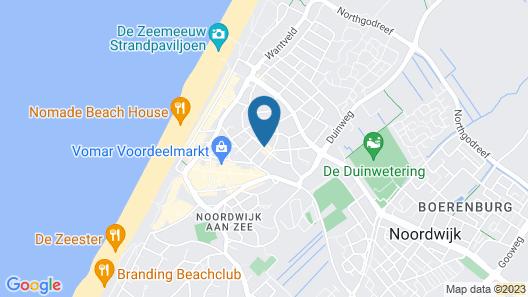 Fletcher Badhotel Noordwijk Map