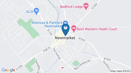 Rutland Arms Map
