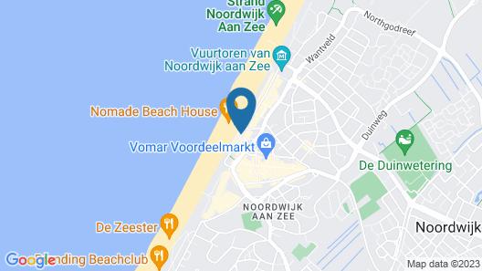 Golden Tulip Noordwijk Beach Map