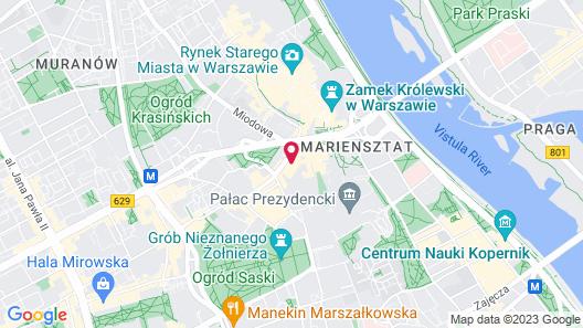 Hotel Bellotto Map
