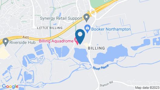 Outstanding 3 Bedroom2018model Caravan Northampton Map