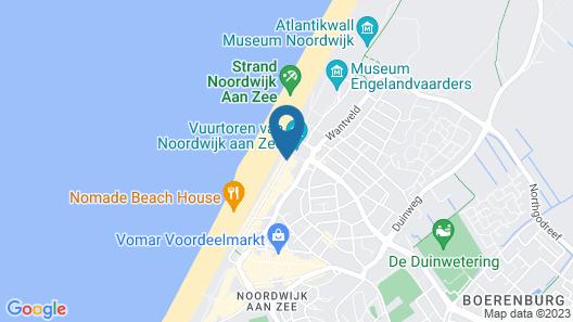 Beach Hotel Noordwijk Map