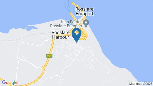 Hotel Rosslare Map