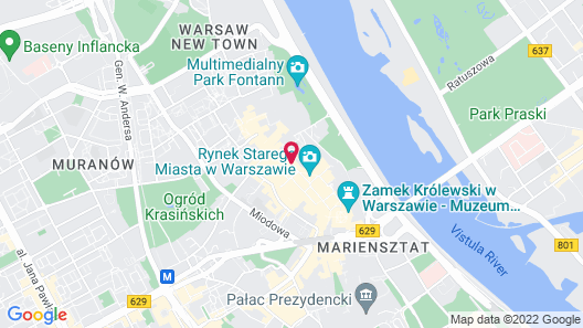 Duval Serviced Apartments Map