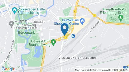 Michel Hotel Braunschweig (ehemals Mercure Hotel Atrium Braunschweig) Map
