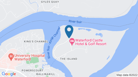 Waterford Castle Map