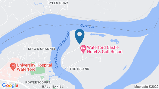 Waterford Castle Lodges Map
