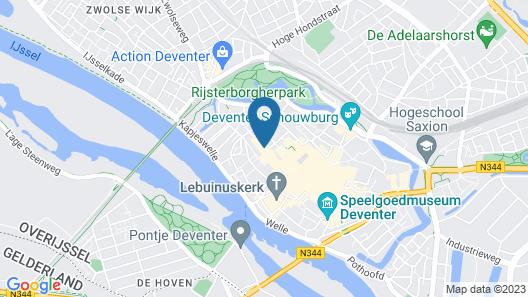 Fletcher Hotel Gilde Map