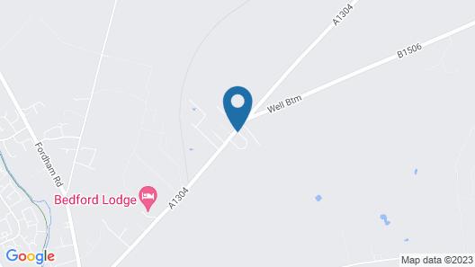 Newmarket Boutique Apartments Map