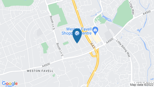 Westone Manor Hotel Map
