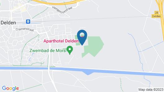 Aparthotel Delden Map