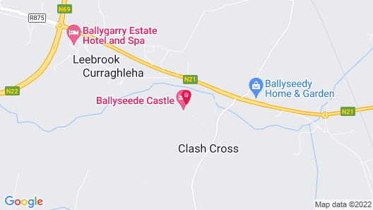 Ballyseede Castle Map
