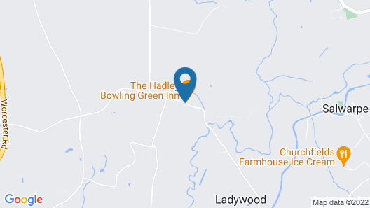 Hadley Bowling Green Inn Map