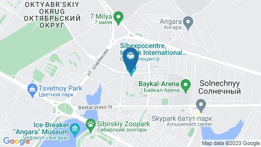 Baikal Business Centre Map