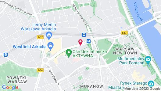 P&O Apartments Arkadia Map