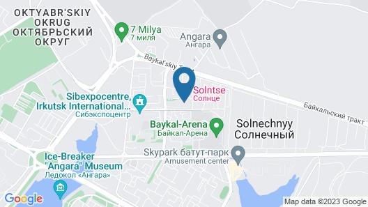 Sun Hotel Map