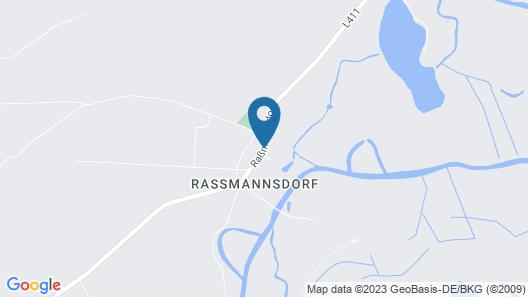 Alwine - Landhaus an den Spreewiesen Map