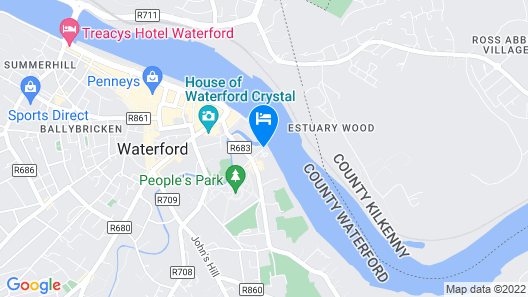 Waterford Marina Hotel Map