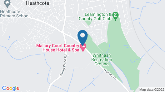Mallory Court Country House Hotel and Spa Map