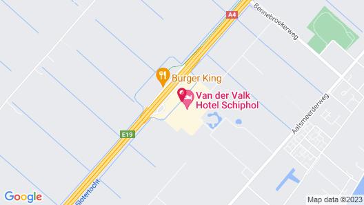 Van der Valk Hotel Schiphol A4-Amsterdam Airport Map