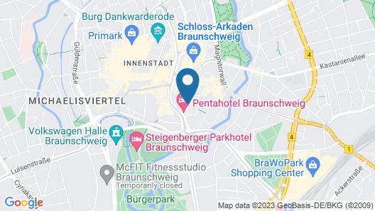 Altstadthotel Wienecke Map