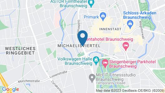 Hotel im Haus zur Hanse Map