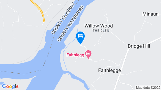 Faithlegg Self Catering Lodge Map
