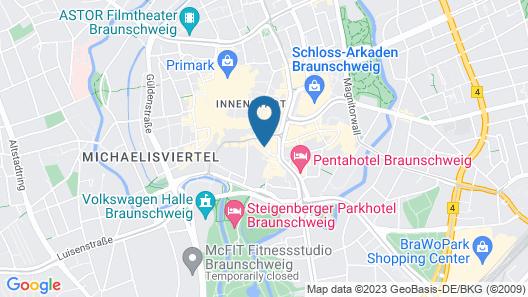 Best Western Plus Hotel StadtPalais Map