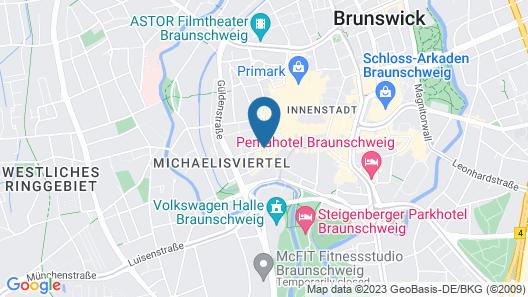 Fruehlings Hotel Map