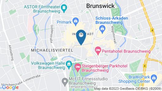 Best Western City-Hotel Braunschweig Map