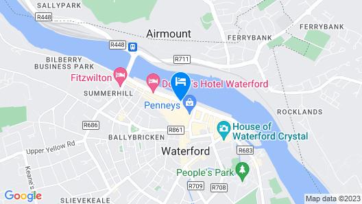 The Granville Hotel Map