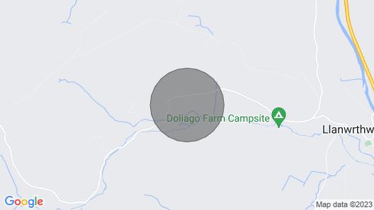 Crych Du Map