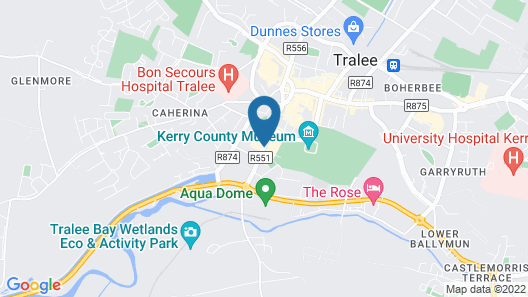 Brandon Hotel Tralee Map