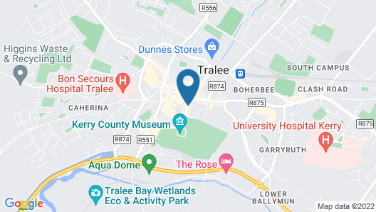 The Imperial Hotel Tralee Map