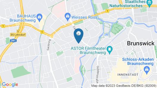 Hotel Wartburg Map