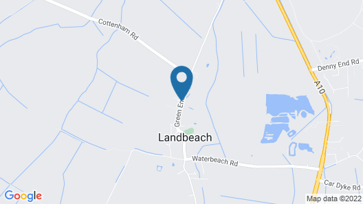 Trinity Lodge, Waterside Lodges Cambridge Map