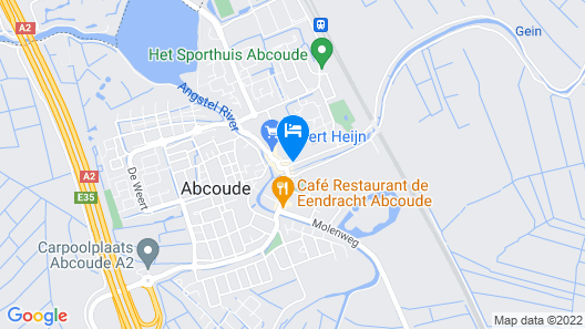 Hotel Abcoude Map