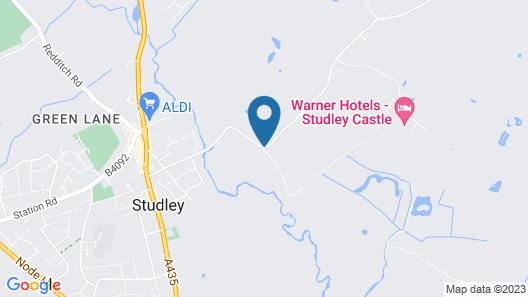 Studley Castle Map