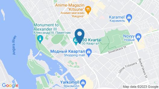Boutique Hotel Marussia Map