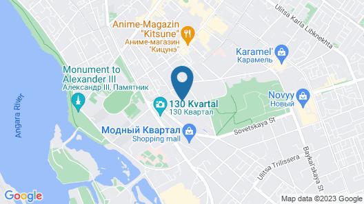 130 Hotel Map