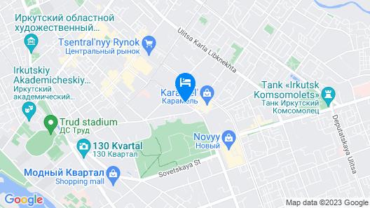 Hi Loft Hostel Irkutsk Map