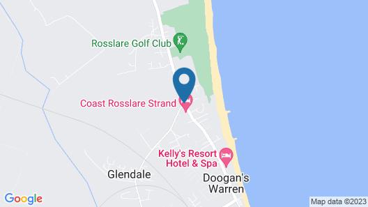 Coast Rosslare Strand Map